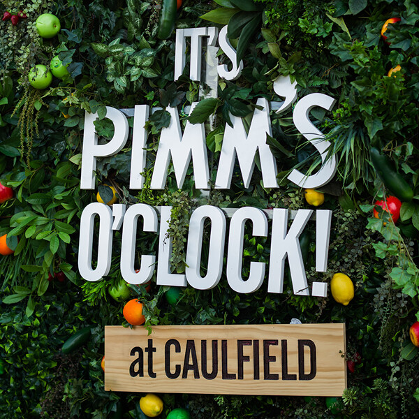 PIMM'S AT CAULFIELD RACECOUSE (VIC)
