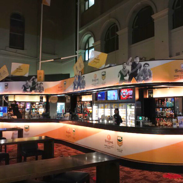BUNDABERG AT LIVEWIRE 24/7 SPORTS BAR, TREASURY BRISBANE (QLD)