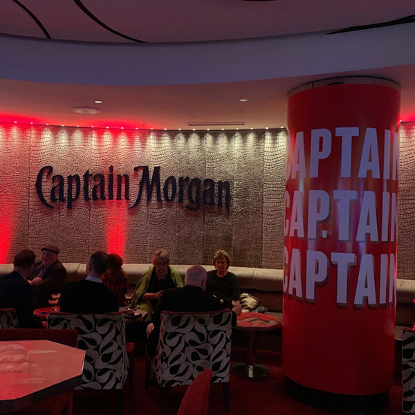 CAPTAIN MORGAN AT VELVET BAR, CROWN MELBOURNE (VIC)