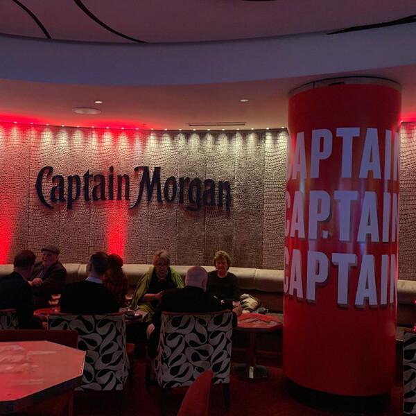 CAPTAIN MORGAN AT VELVET BAR, CROWN MELBOURNE (VIC)