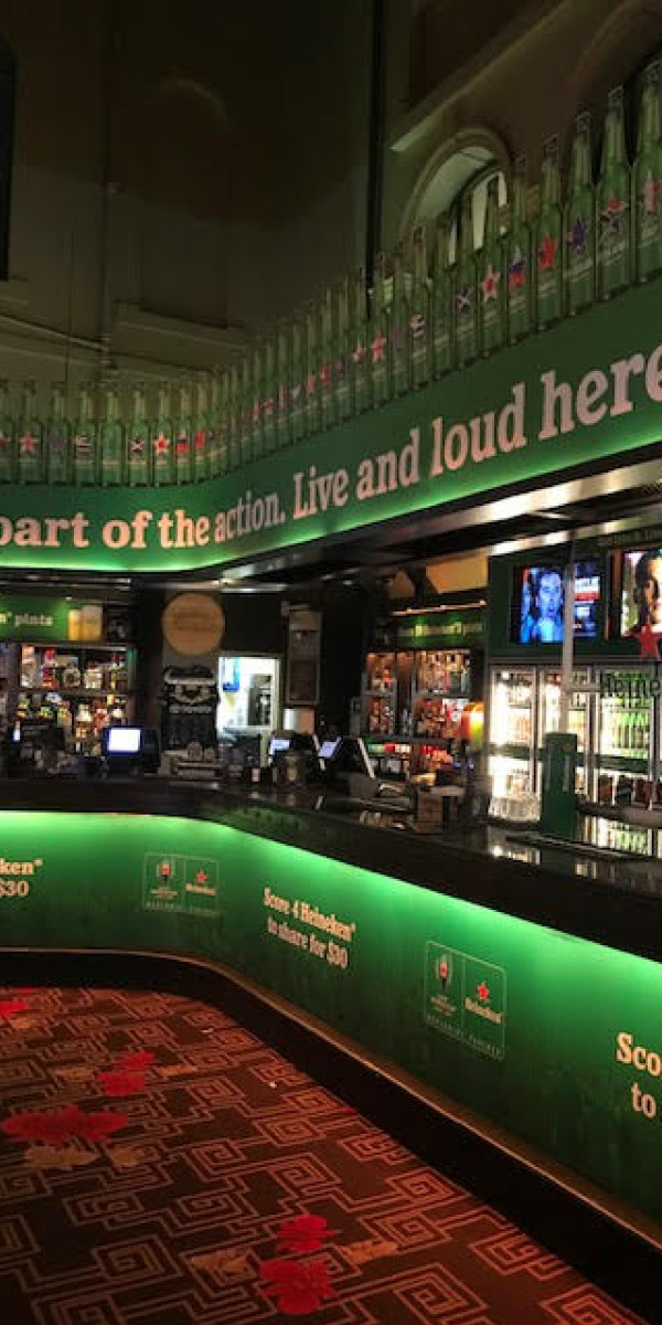 HEINEKEN AT LIVEWIRE 24/7 SPORTS BAR, TREASURY BRISBANE (QLD)
