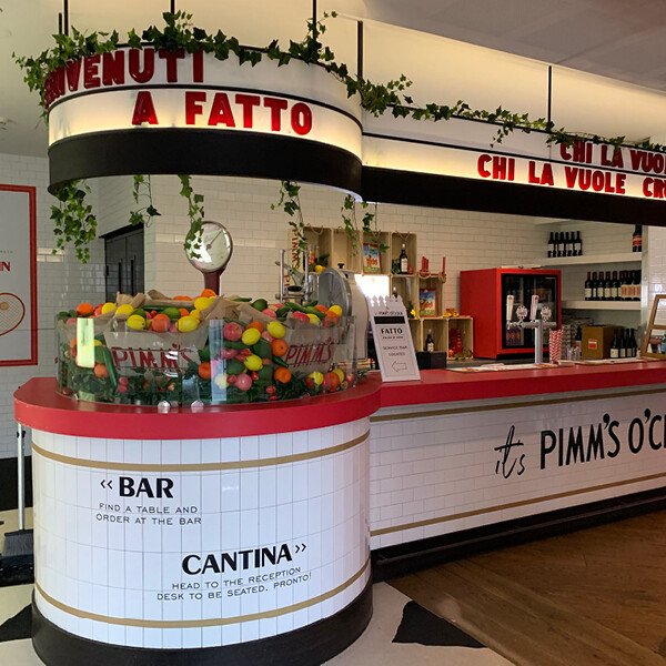 PIMM'S AT FATTO BAR & CANTINA (VIC)