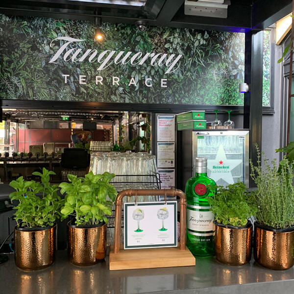TANQUERAY AT PLATFORM 28 (VIC)
