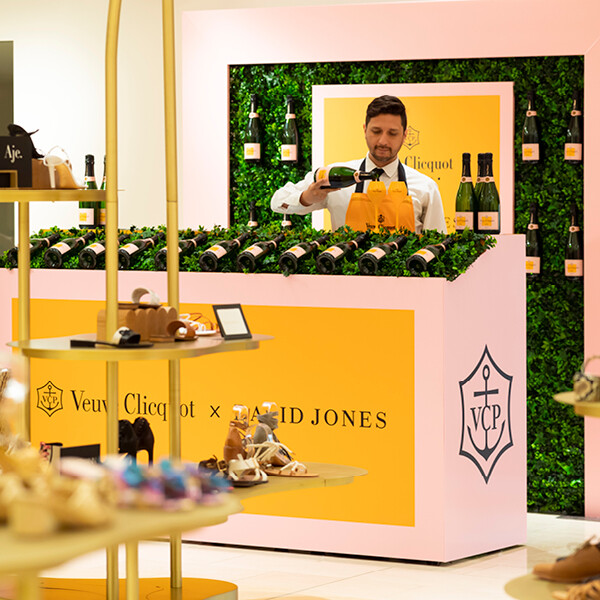 VEUVE CLICQUOT AT DAVID JONES ELIZABETH STREET (NSW)