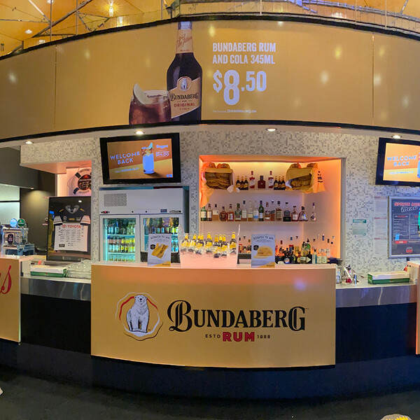 BUNDABERG RUM AT REEF CASINO (QLD)