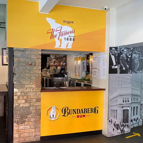 BUNDABERG RUM AT STOCK EXCHANGE HOTEL (QLD)