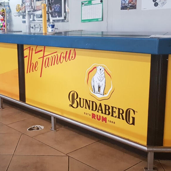 Bundaberg Rum at CJ Workers (QLD)