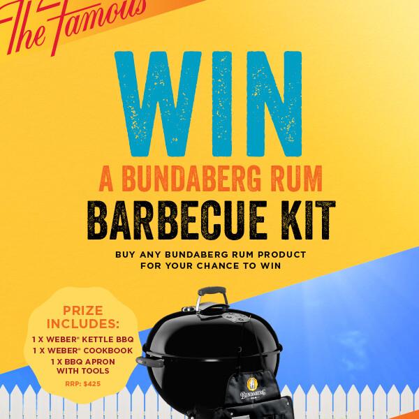 BUNDABERG RUM – WIN A BBQ KIT