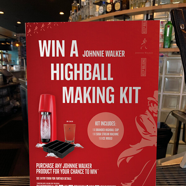 Johnnie Walker – Win a Highball making kit