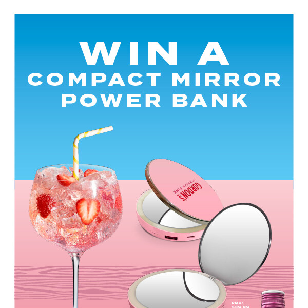 Gordon's Gin – Win a Mirror Power Bank