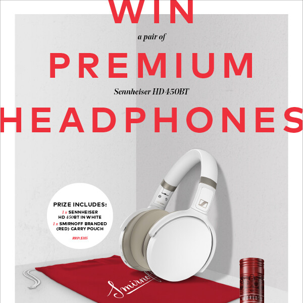 Smirnoff Vodka – Win Headphones