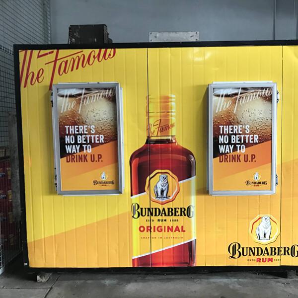 Bundaberg Rum at Hotel Cecil (QLD)