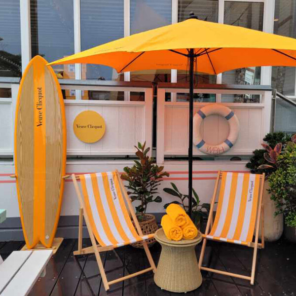 Veuve Clicquot at Watsons Bay Hotel (NSW)